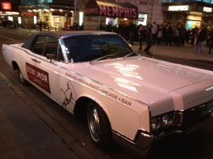 Bowlmor Lanes Car