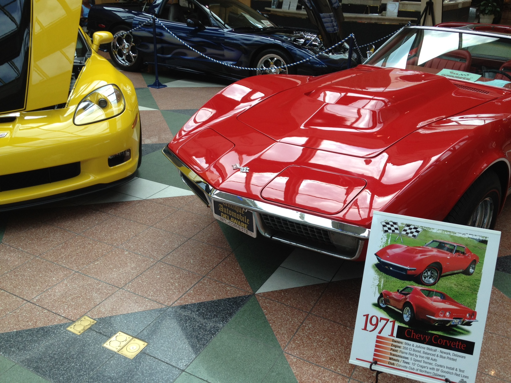 Corvettes, other classic cars impress at Concord Mall | Photo Journey