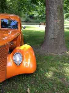 Orange Classic Car