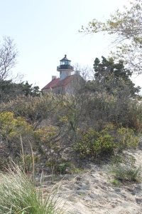 East Point Lighthouse, a very interesting and scenic site to visit in southern New Jersey.