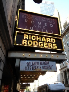 "A trip to New York City to see ""Romeo and Juliet"" on Broadway."