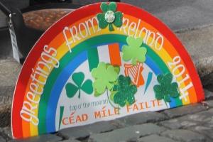 Irish Welcome Sign