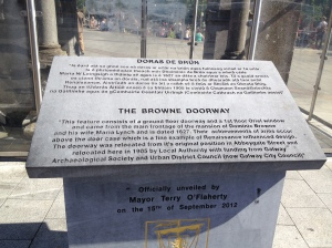 Browne Doorway Info