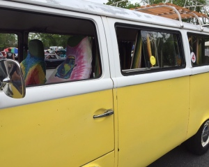 Yellow VW Van 2